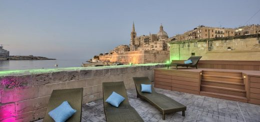 "Лучшие отели Мальты - ""The Valletta G-House Apartments"" (""Waterfront Valletta House"")"