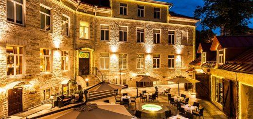 Лучшие отели Таллина (Эстония) - спа отель с видом на Старый город «The von Stackelberg Hotel Tallinn»
