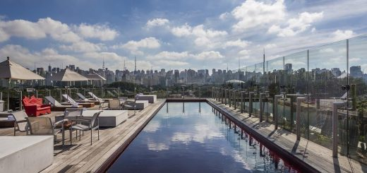 Лучшие отели Сан-Паулу в фешенебельном районе Жардинс - «Hotel Unique»