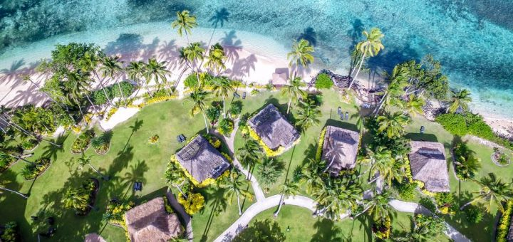 Лучшие отели Фиджи. Остров Камеа (Qamea) - «Qamea Resort & Spa»