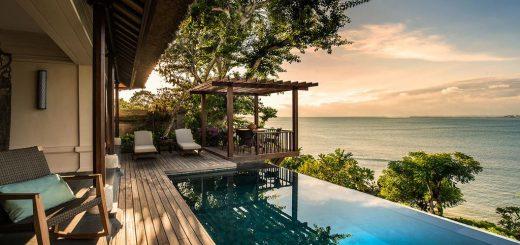 """Лучшие отели Джимбаран, Бали - """"Four Seasons Resort Bali at Jimbaran Bay"""""""