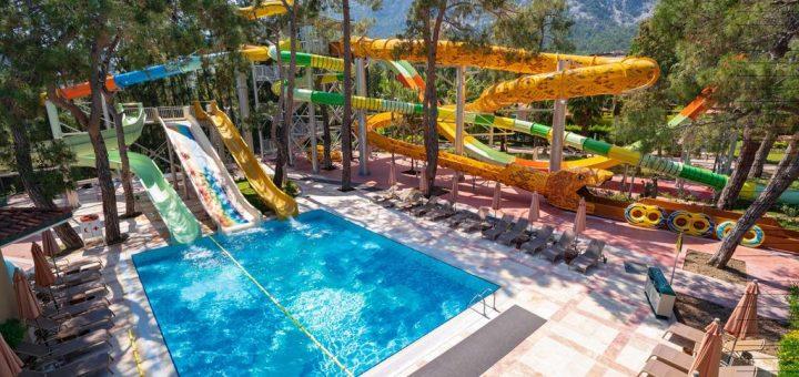 Лучшие отели Кемера для детей и семейного отдыха с зеленной территорией - «Akka Antedon Hotel - Kids Concept»